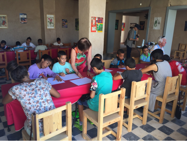 Reprise des ateliers pour enfants au musée de la palmeraie à Marrakech/Saison 2015-2016