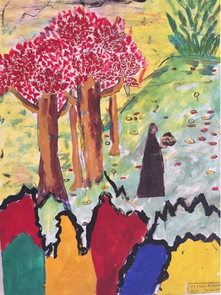 Aderrazzak Benchaâbane, l'art au service des enfants ParPatrick Marescaux.                   media24.com