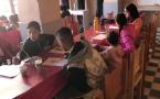 Les ateliers d'éveil Artistique se poursuivent au musée de la Palmeraie