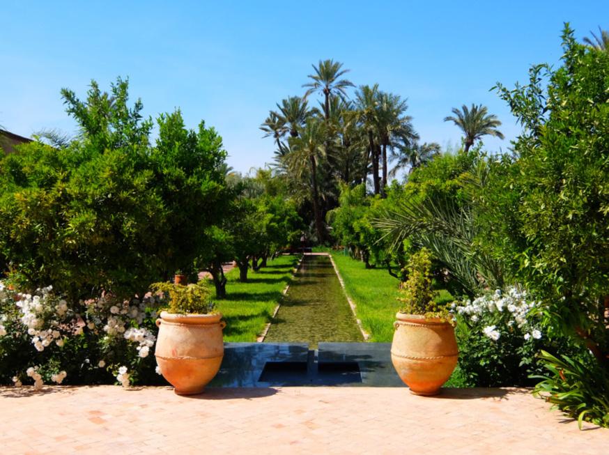 Dans un écrin de jardins