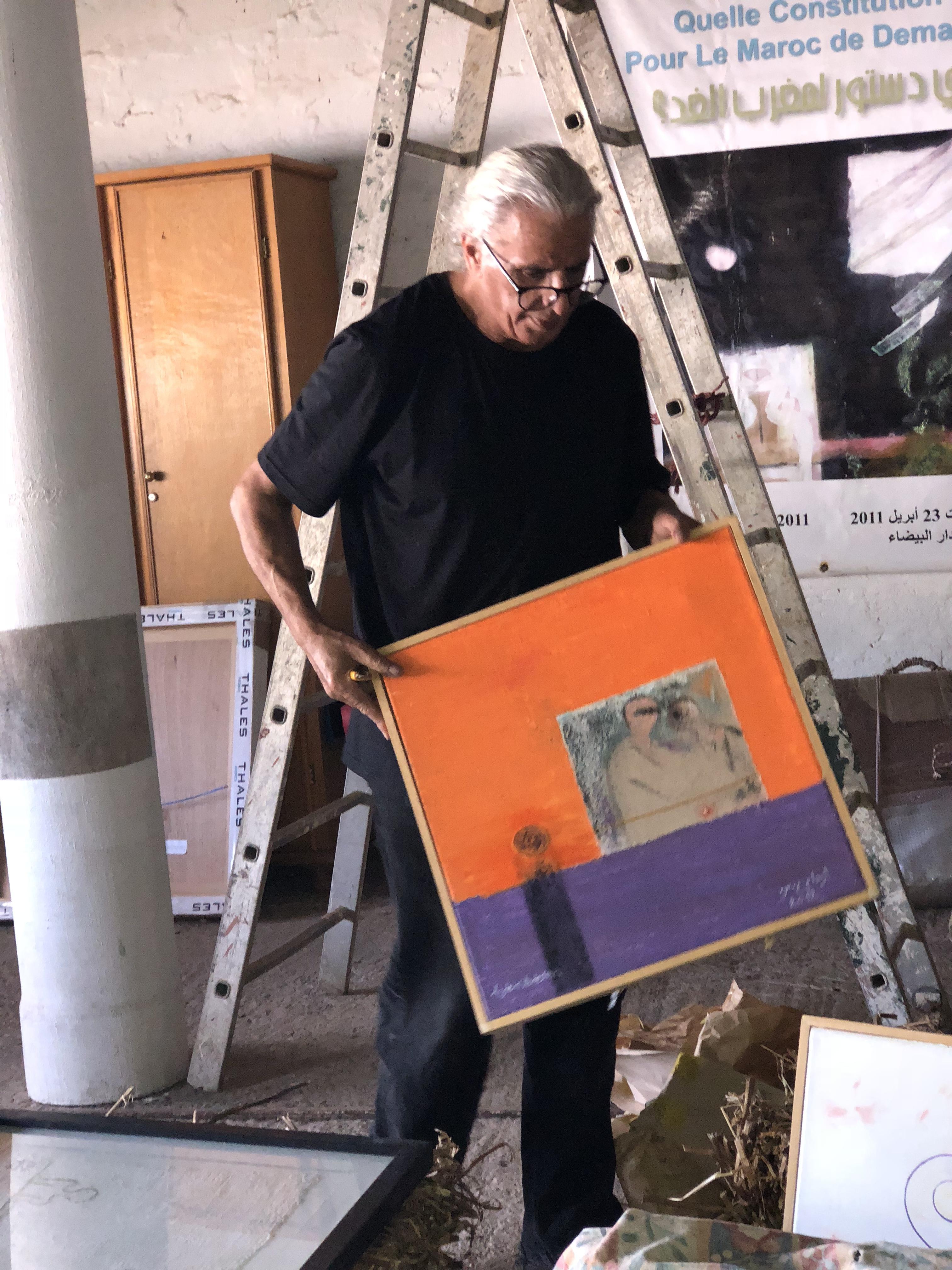 Les œuvres d'Abdeslem Azdem bientôt au musée de la Palmeraie à Marrakech