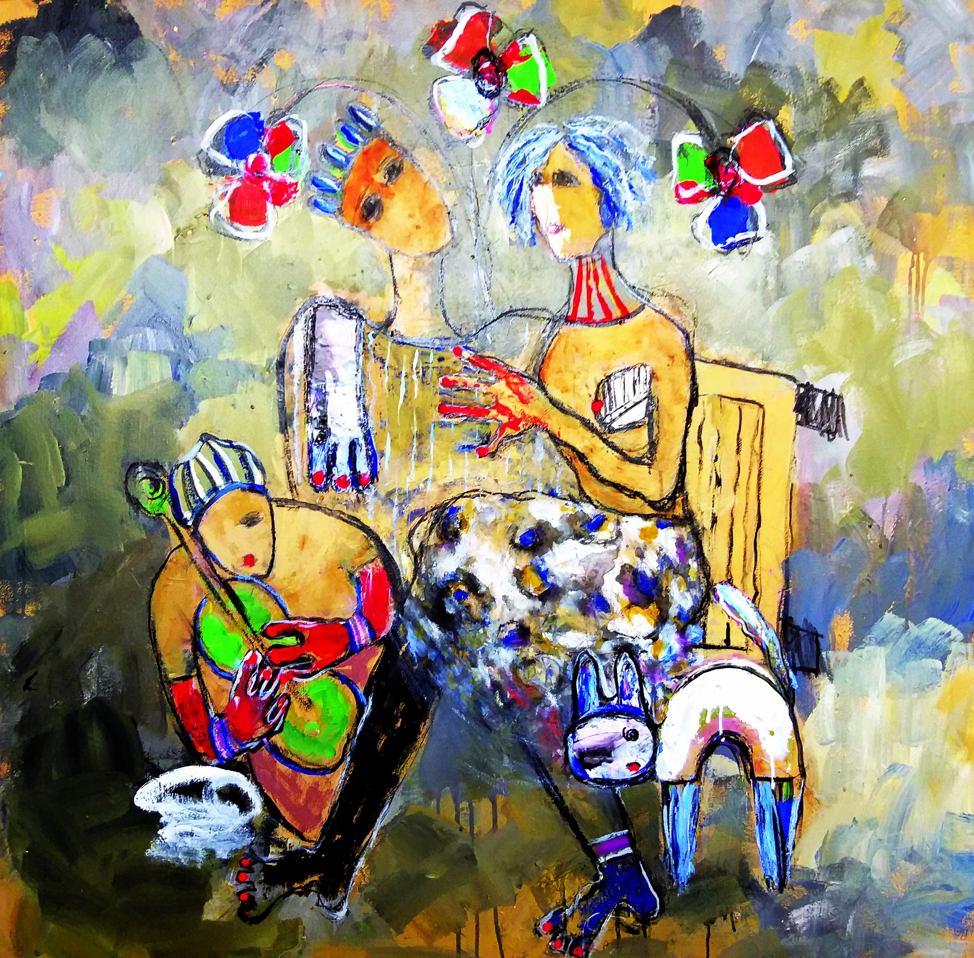 Rachida Touijri un parfum de liberté
