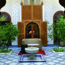 Désormais ce Riad du 19ème siècle abrite le musée de l'art de vivre à Marrakech