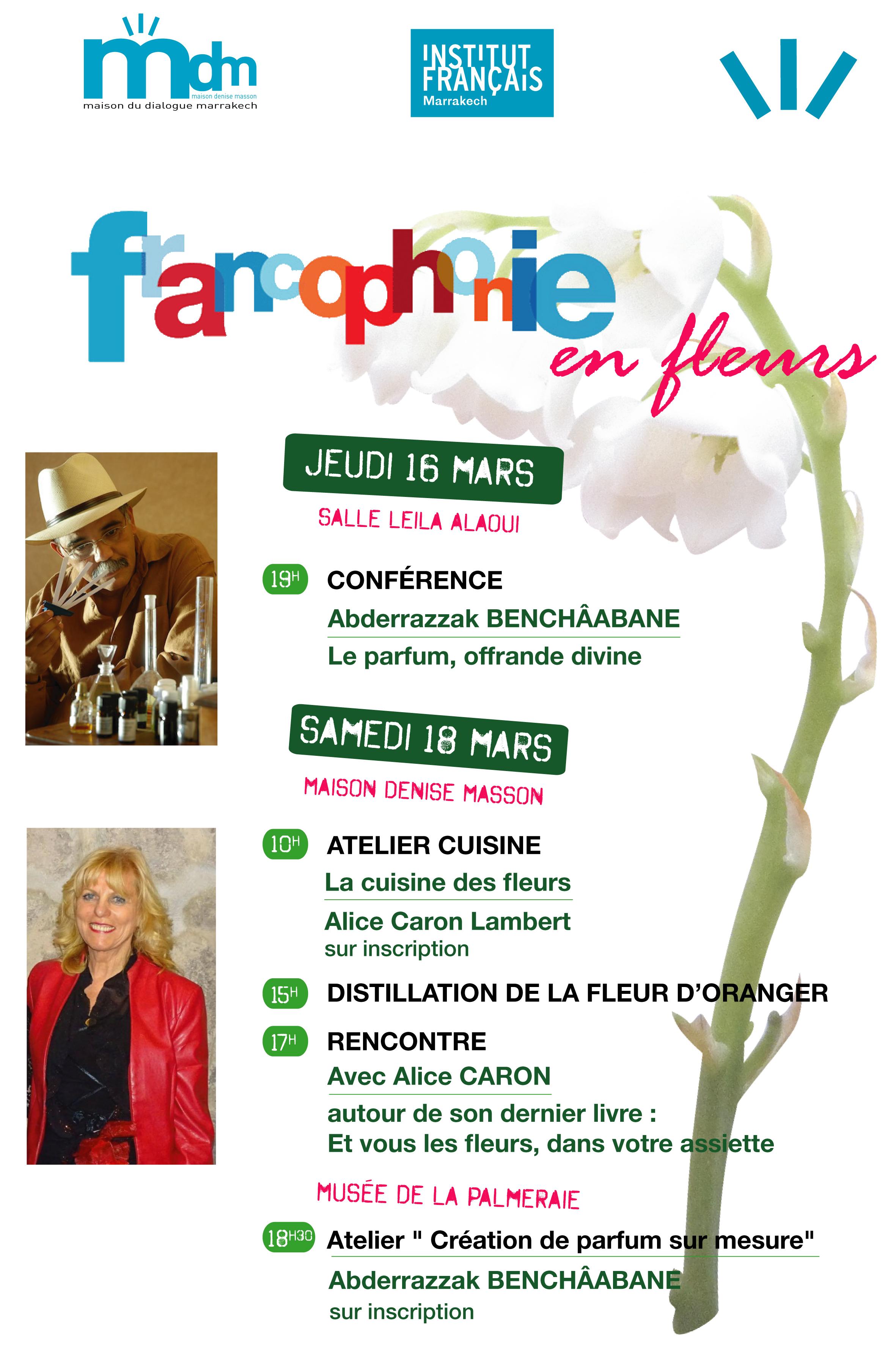 Francophonie en Fleurs et en Parfums