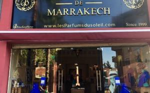 Rue Yves Saint Laurent Marrakech